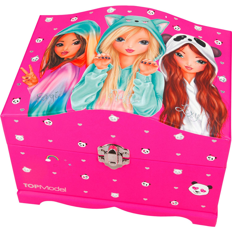 Top Model Cutie Bijuterii cu luminite Roz Depesche