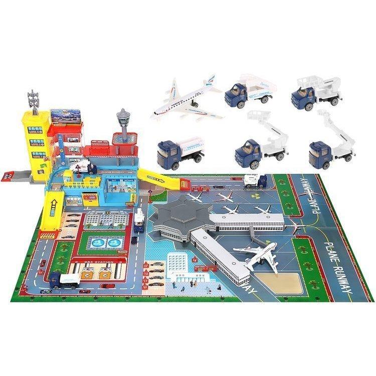 Set aeroport cu pista Iso Trade MY17482